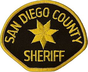 San Diego County Sheriffs Patch