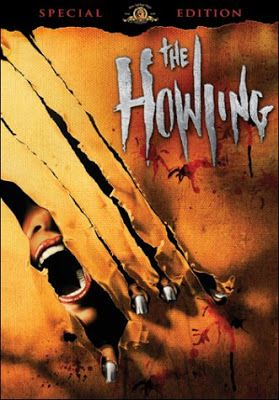 """""""The Howling"""" (1981) starring Dee Wallace, Patrick Macnee, Belinda Balaski, and Dennis Dugan  is a classic werewolf horror movie from the 80's."""