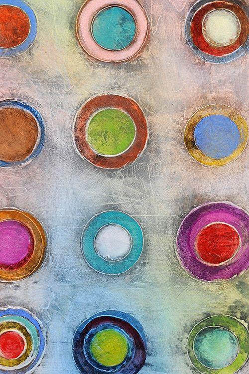 Original Abstract Art Painting 36 x 24