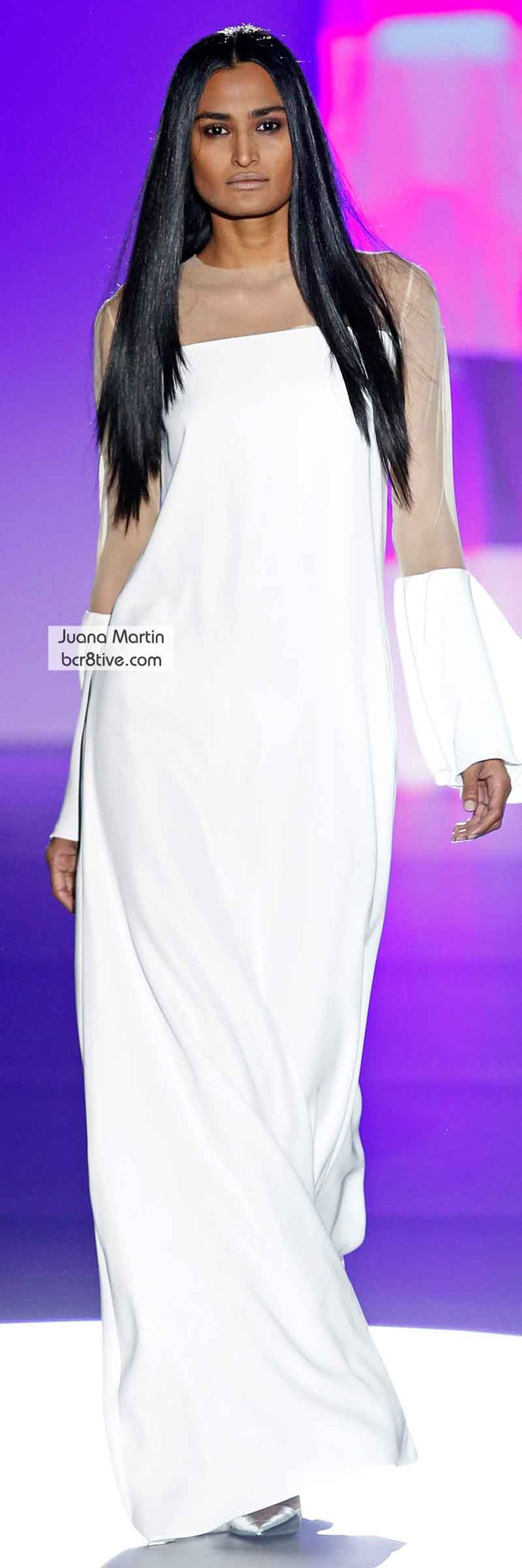 Juana Martin FW 2014 #MadridFashionWeek. I bet we could fashion this into a classy preaching robe.  Ideas, seamsters/seamstresses?