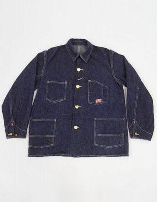 Vintage 1920's CARHARTT Chore Coat