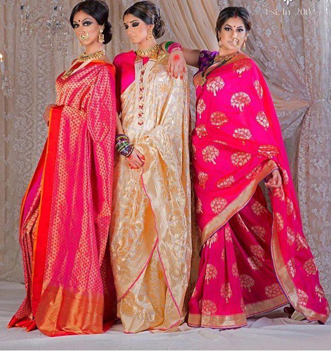 Saree love #bridalwear #weddingseasons #nawabansytle #weddingstyle #sareelove #sareeindia #pinklove #punjaban #indianbrides #weloveshopping by the_pink_store_