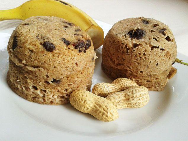 Fitness muffinky z mikrovlnky