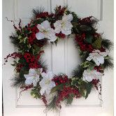 Found it at Wayfair - Amarylis and Berry Wreath