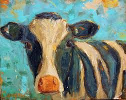 Image result for cute baby cow paintings