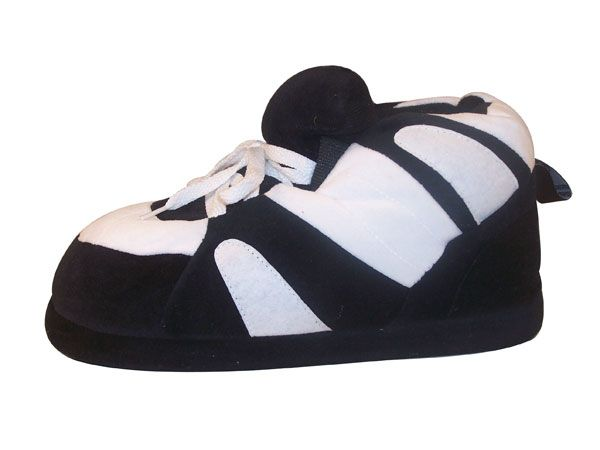 Black and White Slippers