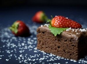 Nem og fugtig chokoladekage