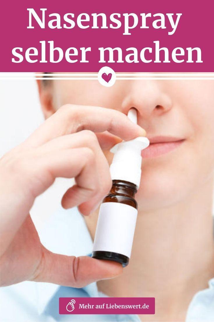 Nasenspray Selber Machen Diese Hausmittel Helfen Bei Verstopfter