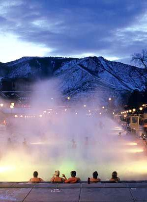 A guide to Colorado hot springs >>> This looks like a great way to spend a winter night! >>> This is on my list if I win!!!