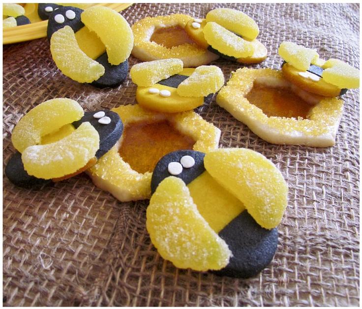 bee cookies | Bees | Pinterest