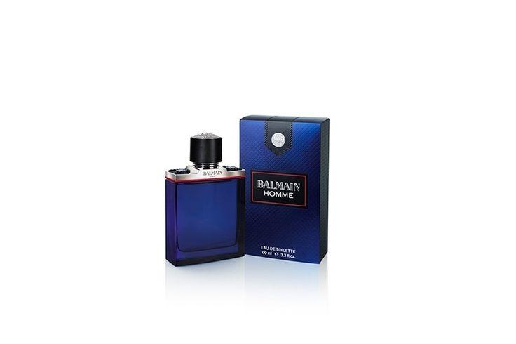 Balmain Homme, da Balmain. Perfume apresenta frescor metálico da bergamota, açafrão e noz-moscada. Preço sugerido: R$ 245,00 (60ml) e R$ 352,00 (100ml). Informações: 0800 970 9877| Preço e disponibilidade consultados em dezembro de 2015 e sujeitos a alterações