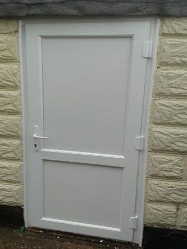 how to open a locked upvc door