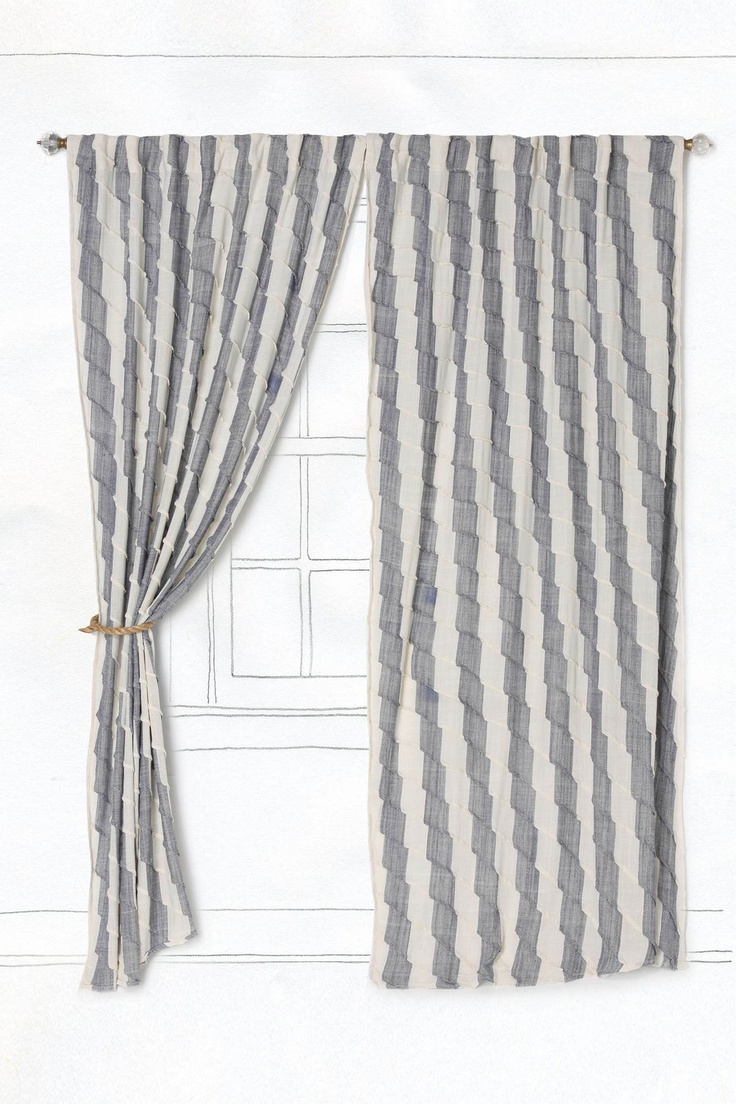 Curtains abstract made to measure felicia duckegg curtains - Coralie Bed Stripe Curtainsbedroom