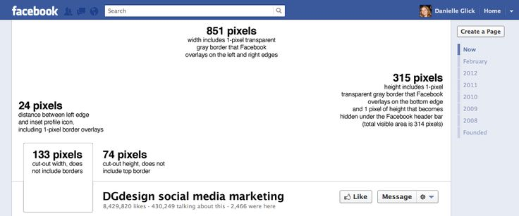 Facebook Cover Design Specifications