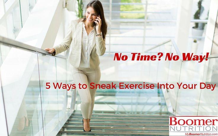 5 Ways to Sneak Exercise Into Your Day_logo