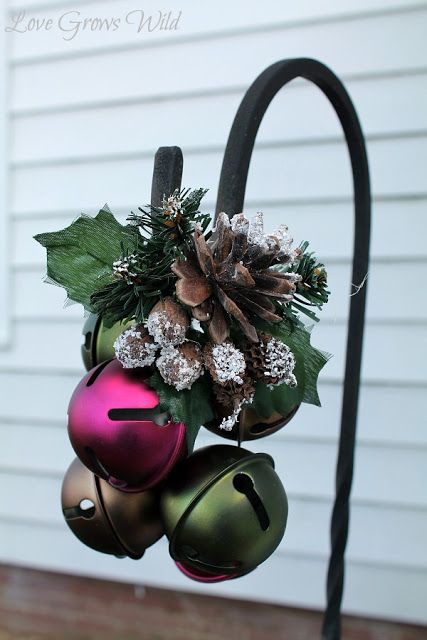 12 crafts for Christmas decorating