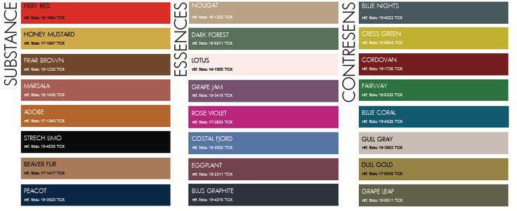 Inter style paris tendances couleurs 2015 2016 2017 fashion pinterest - Couleur tendance ete 2015 ...