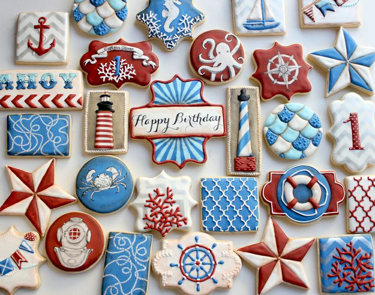 cute nautical cookies - Google Search
