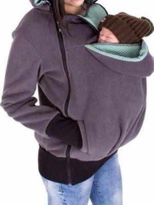 WealFeel Baby Carrier Jacket Kangaroo Outerwear