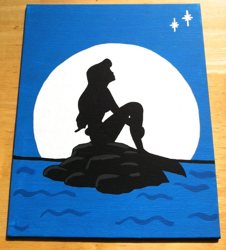 What To Paint best 25+ little mermaid painting ideas on pinterest | disney
