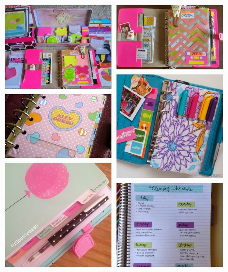 Planner Ideas * website in Spanish but the beautiful pictures need no…
