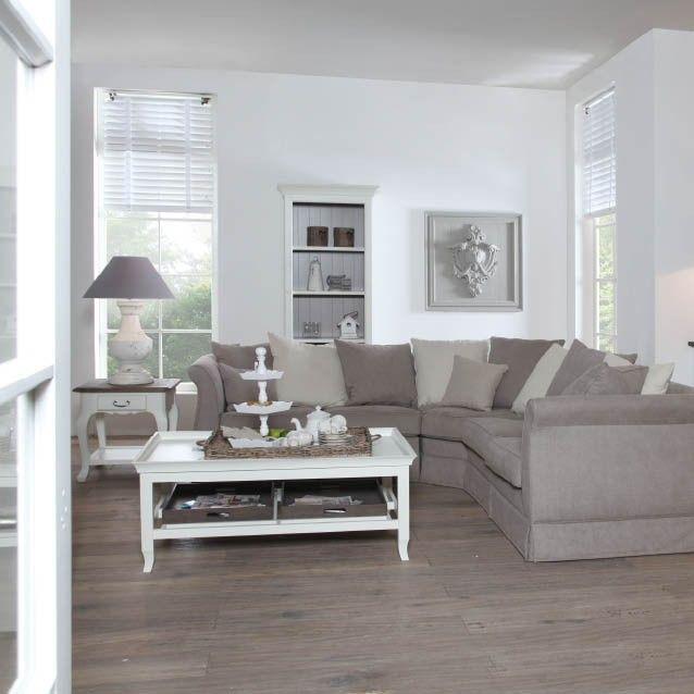 Fijn sfeertje in deze woonkamer mooie bij elkaar passende for Kleuren woonkamer landelijk