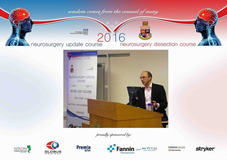 https://flic.kr/p/NM6Aod | Neurosurgery Update 2016 Richard Selway website | 11th – 17th September 2017 Neurosurgery Update Course University Hospital Coventry, England United Kingdom Course Features Seven day Course Up to 10 hours of daily lectures 150 Lectures 100 National & International Speakers Video sessions of operative procedures Interactive lectures and case discussions Hands on & Products Demonstration Sponsors Exhibition Social events & Gala Dinner  Accreditation 42 CPP By