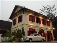 Colonial building Louang Phabang