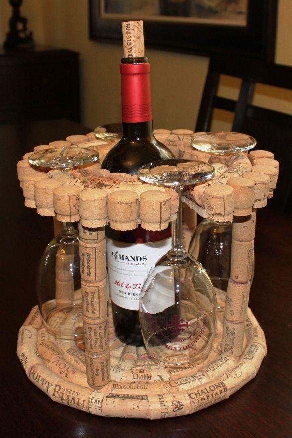 Les 20 meilleures id es de la cat gorie porte bouteilles de vin sur pinterest bougies dans - Diametre bouteille de vin ...