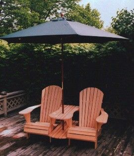 adirondack chair plans | Outdoor Plans - The Barley Harvest Woodworking Plans