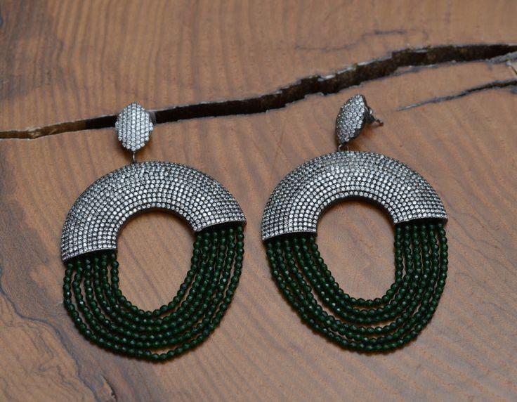 A personal favourite from my Etsy shop https://www.etsy.com/listing/292926301/silver-dangle-earrings-silver-earrings