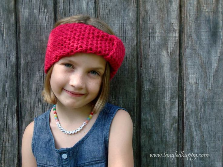 Easy Turban Headband {Child 3-10 Years} « The Yarn Box