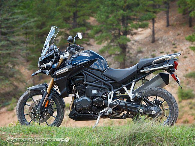 Best Adventure Motorcycle 2012: Triumph Tiger Explorer - Motorcycle USA