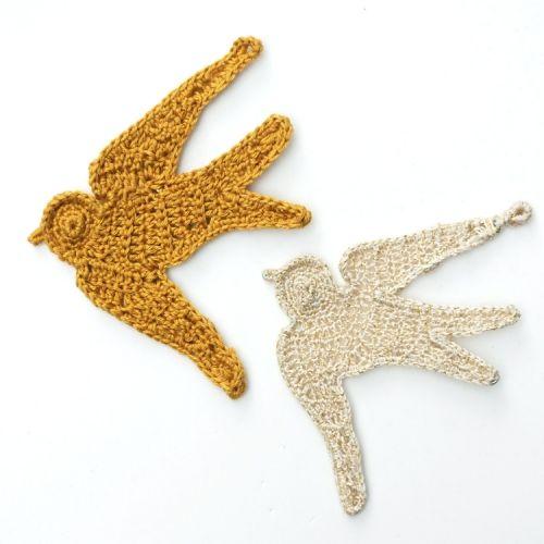 Crochet Swallows