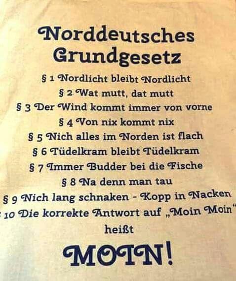 25 best ideas about plattdeutsch auf pinterest - Pinterest witze ...