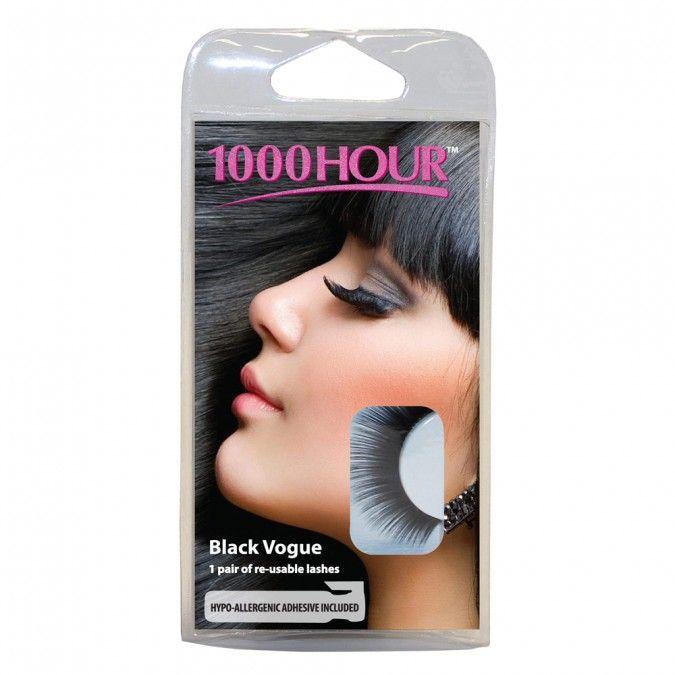 1000 Hour Natural Lashes Black Vogue 1 Kit