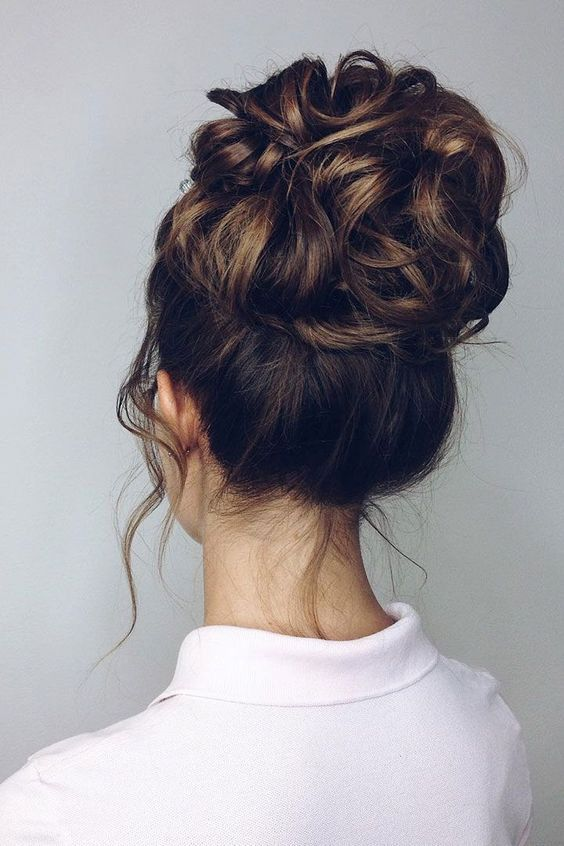 Easy and Trending Updo Hairstyles to Get An Elegant Look - Page 5 of 25 - HAIRSTYLE ZONE X #longhairstyles