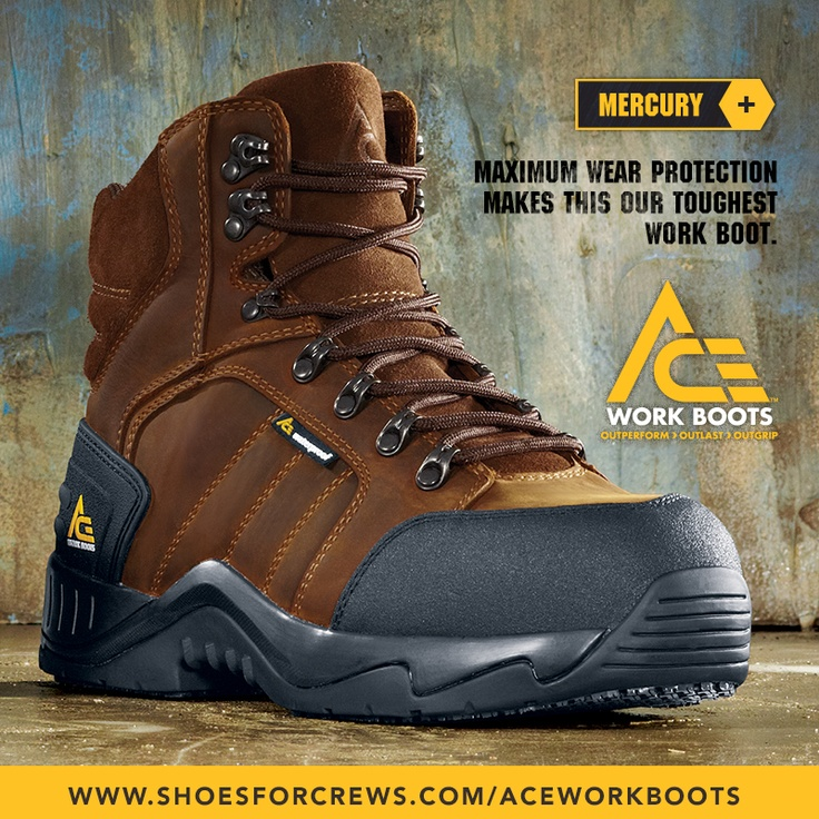 8 best ACE Work Boots™ - Born to Grip, Built to Last images on ...