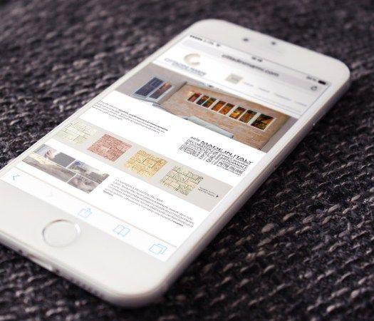 Realizzazione #BrandSite #Responsive per Cittadini #Marmi. #WebDesign #GraphicDesign