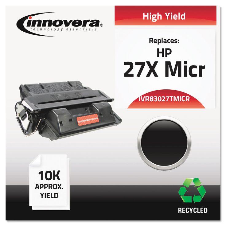 Innovera Remanufactured C4127X(M) (27XM) High-Yield Micr Toner, Black