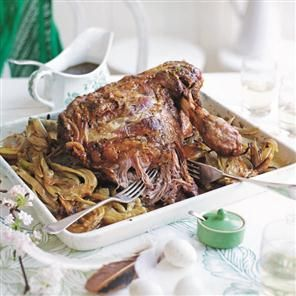 Slow-cooked shoulder of lamb with fennel and Marsala recipe By Lizzie Kamenetzky & Rebecca Smith