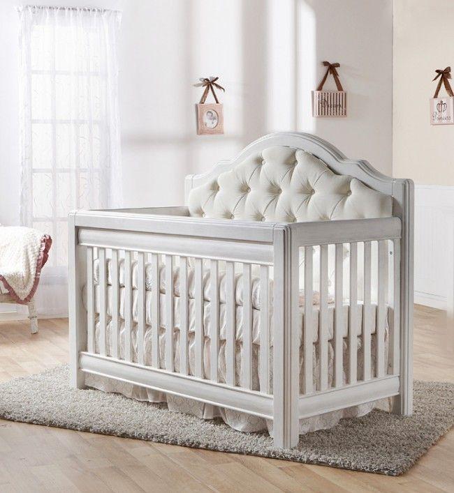 Pali Cristallo Forever Crib Vintage White