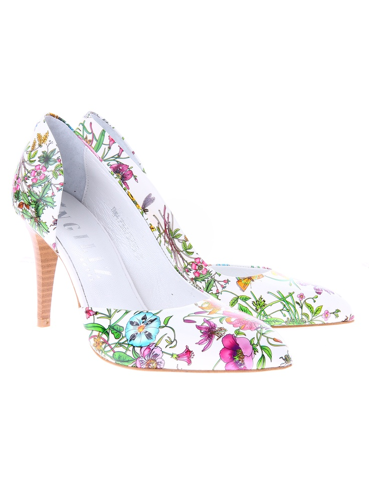 Pantofi cu flori Manuele Konstanti shoes de la Shopamor