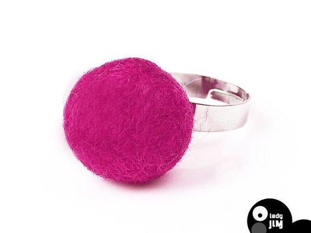 felt ring, felt rings, Felt Beaded Jewelry, felted beads, felt jewelry, Lady Jim, wool jewelry