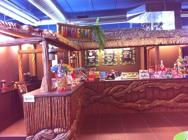 "Play Mart - Bancone bar ad angolo a tema ""Jungla"""
