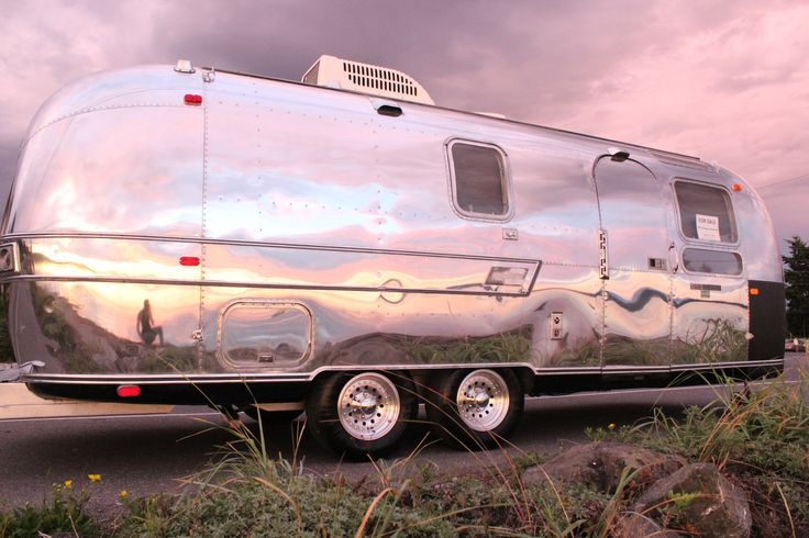 Cool  Travel Trailer On Pinterest  Old School Trailer Ipod Dock And Canada