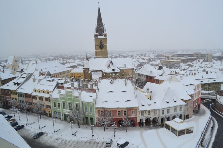 Sibiu Medieval Town in Transylvania  http://www.touringromania.com/regions/transylvania/sibiu-city.html
