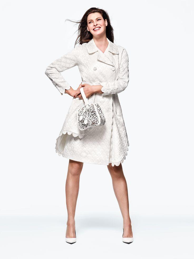 Coat, Simone Rocha; Shoes, Lanvin; Handbag, Azzedine Alaia.