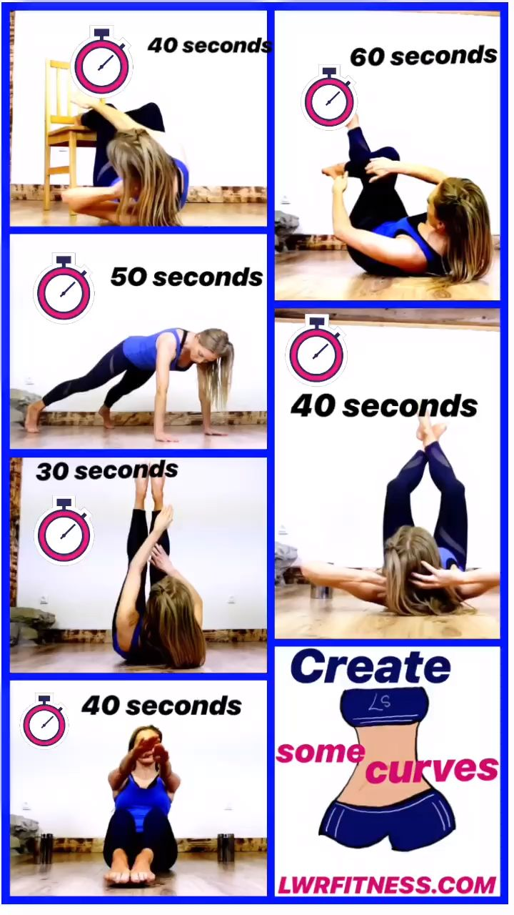 WAIST WORKOUT and AB WORKOUT – tone and shape your tummy with these ab exercises