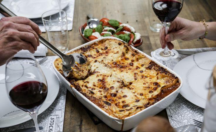 Bästa lasagnen gör du såklart själv! Testa detta recept med annorlunda kryddor!